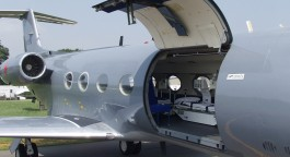 Air Ambulance Bay Door